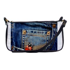 Blue Jean Butterfly Evening Bag by AlteredStates
