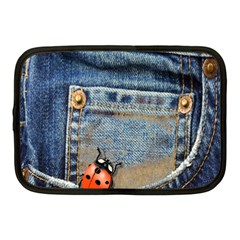 Blue Jean Butterfly Netbook Sleeve (medium) by AlteredStates