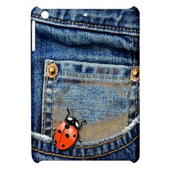 Blue Jean Butterfly Apple Ipad Mini Hardshell Case by AlteredStates