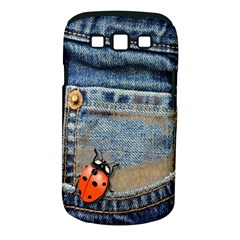 Blue Jean Butterfly Samsung Galaxy S Iii Classic Hardshell Case (pc+silicone) by AlteredStates