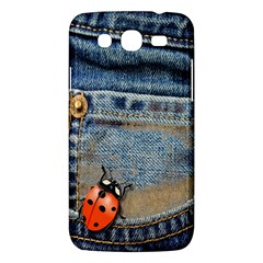 Blue Jean Butterfly Samsung Galaxy Mega 5 8 I9152 Hardshell Case  by AlteredStates
