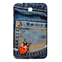 Blue Jean Butterfly Samsung Galaxy Tab 3 (7 ) P3200 Hardshell Case  by AlteredStates