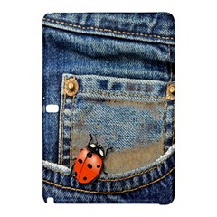 Blue Jean Butterfly Samsung Galaxy Tab Pro 12 2 Hardshell Case by AlteredStates