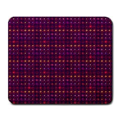 Funky Retro Pattern Large Mouse Pad (rectangle) by SaraThePixelPixie