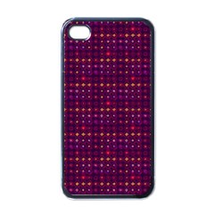 Funky Retro Pattern Apple Iphone 4 Case (black) by SaraThePixelPixie