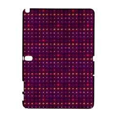 Funky Retro Pattern Samsung Galaxy Note 10 1 (p600) Hardshell Case by SaraThePixelPixie