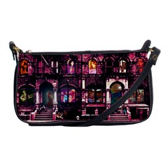 Physical Graffitied Evening Bag by SaraThePixelPixie