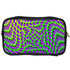 Illusion Delusion Travel Toiletry Bag (one Side)