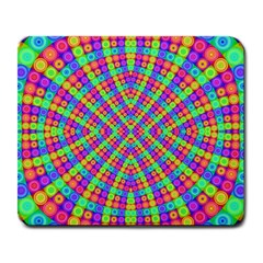 Many Circles Large Mouse Pad (rectangle)