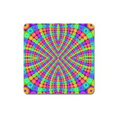 Many Circles Magnet (square) by SaraThePixelPixie