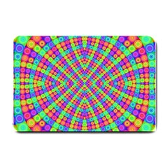 Many Circles Small Door Mat by SaraThePixelPixie