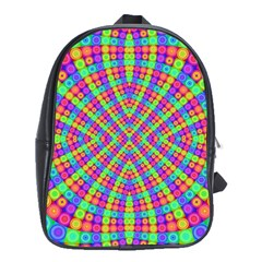 Many Circles School Bag (large)