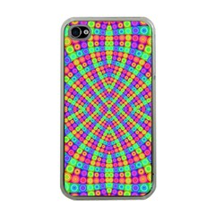 Many Circles Apple Iphone 4 Case (clear) by SaraThePixelPixie