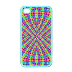 Many Circles Apple Iphone 4 Case (color) by SaraThePixelPixie