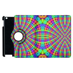 Many Circles Apple Ipad 2 Flip 360 Case