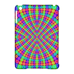 Many Circles Apple Ipad Mini Hardshell Case (compatible With Smart Cover) by SaraThePixelPixie