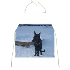 Snowy Gsd Apron by StuffOrSomething