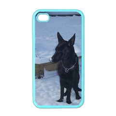 Snowy Gsd Apple Iphone 4 Case (color) by StuffOrSomething