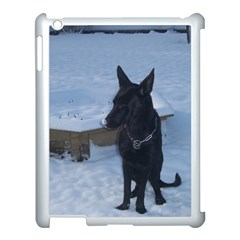 Snowy Gsd Apple Ipad 3/4 Case (white) by StuffOrSomething