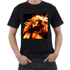 Golden God Men s T-shirt (black)