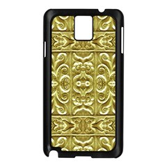Gold Plated Ornament Samsung Galaxy Note 3 N9005 Case (black) by dflcprints