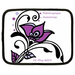 2015 Awareness Day Netbook Sleeve (xl) by FunWithFibro
