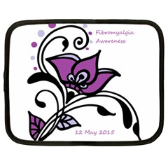 2015 Awareness Day Netbook Sleeve (xxl) by FunWithFibro