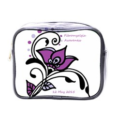 2015 Awareness Day Mini Travel Toiletry Bag (one Side) by FunWithFibro