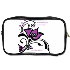 2015 Awareness Day Travel Toiletry Bag (one Side) by FunWithFibro