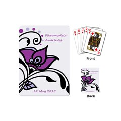 2015 Awareness Day Playing Cards (mini) by FunWithFibro