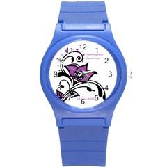 2015 Awareness Day Plastic Sport Watch (small) by FunWithFibro