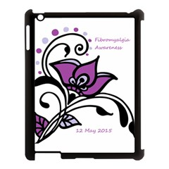 2015 Awareness Day Apple Ipad 3/4 Case (black) by FunWithFibro