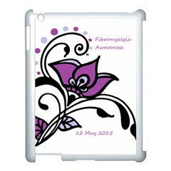 2015 Awareness Day Apple Ipad 3/4 Case (white) by FunWithFibro