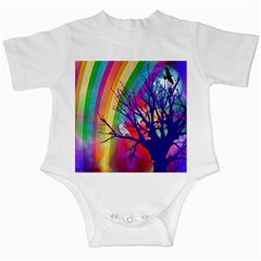 Rainbow Moon Infant Bodysuit by SaraThePixelPixie