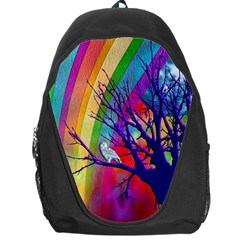 Rainbow Moon Backpack Bag by SaraThePixelPixie