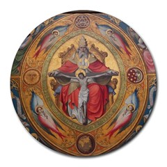 Cologne Cathedral   Altar Of The Poor Clares 8  Mouse Pad (round)