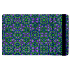 Retro Flower Pattern  Apple Ipad 3/4 Flip Case by SaraThePixelPixie