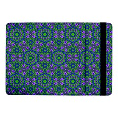 Retro Flower Pattern  Samsung Galaxy Tab Pro 10 1  Flip Case by SaraThePixelPixie