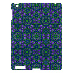 Retro Flower Pattern  Apple Ipad 3/4 Hardshell Case by SaraThePixelPixie