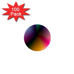 Prism Rainbow 1  Mini Button Magnet (100 Pack) by StuffOrSomething