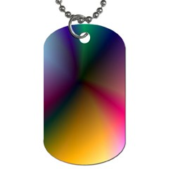 Prism Rainbow Dog Tag (one Sided) by StuffOrSomething