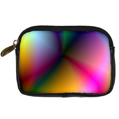 Prism Rainbow Digital Camera Leather Case by StuffOrSomething
