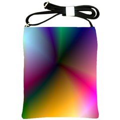 Prism Rainbow Shoulder Sling Bag by StuffOrSomething