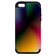 Prism Rainbow Apple Iphone 5 Hardshell Case (pc+silicone) by StuffOrSomething