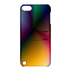 Prism Rainbow Apple Ipod Touch 5 Hardshell Case With Stand by StuffOrSomething