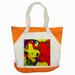 Abstract Accent Tote Bag by Siebenhuehner