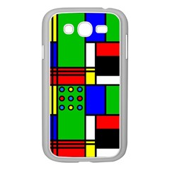 Mondrian Samsung Galaxy Grand Duos I9082 Case (white) by Siebenhuehner