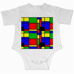 Mondrian Infant Bodysuit by Siebenhuehner