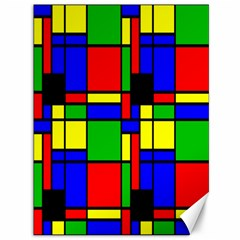 Mondrian Canvas 36  X 48  (unframed) by Siebenhuehner