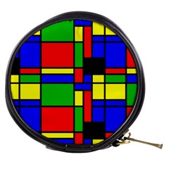 Mondrian Mini Makeup Case by Siebenhuehner